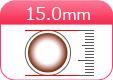 DIA15.0mmカラコン一覧へ